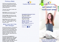 PAP Therapy for your Sleep Apnea (Page 1)